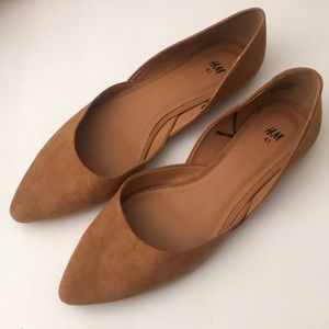 H & M camel colored flats